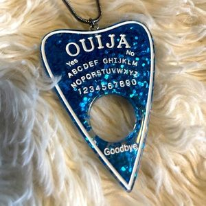 NEW Ouija Resin Necklace Spooky Halloween